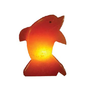 9 DOLPHIN SHAPES LAMP SIZE 10x15x20CM WEIGHT 3-4KG